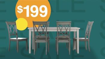 Ashley HomeStore Sale + Clearance Event TV Spot, 'Dining Tables & Sofas' - Thumbnail 4
