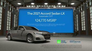 2021 Honda Accord TV Spot, 'Upgrade: Accord' [T2] - Thumbnail 8