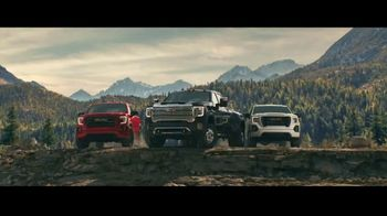 2021 GMC Sierra TV Spot, 'Jaw Drop: Bear' [T2]