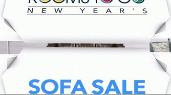 Rooms to Go New Year's Sofa Sale TV Spot, 'Endless Sofa Possibilities' - Thumbnail 3