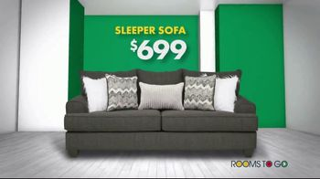 Rooms to Go New Year's Sofa Sale TV Spot, 'Endless Sofa Possibilities' - Thumbnail 6