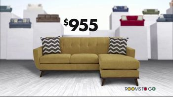 Rooms to Go New Year's Sofa Sale TV Spot, 'Endless Sofa Possibilities' - Thumbnail 9