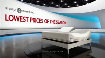 Sleep Number Lowest Prices of the Season TV Spot, 'Snoring: Queen for $899' - Thumbnail 1