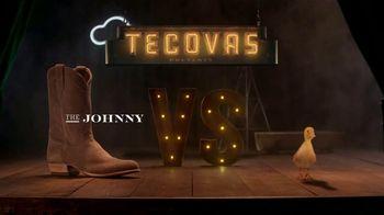 Tecovas TV Spot, 'The Johnny vs. A Duckling'
