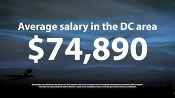 Aviation Institute of Maintenance TV Spot, '$74,890 in the DC Area' - Thumbnail 6