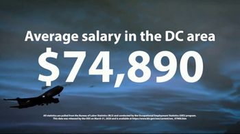 Aviation Institute of Maintenance TV Spot, '$74,890 in the DC Area' - Thumbnail 7