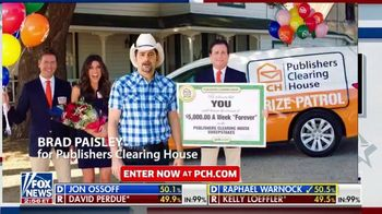 Publishers Clearing House TV Spot, 'Prize Patrol' Featuring Brad Paisley - Thumbnail 1