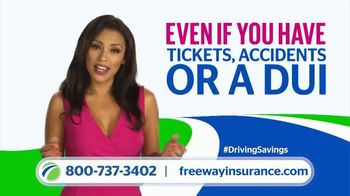 Freeway Insurance TV Spot, 'Tickets, Accidents or a DUI'