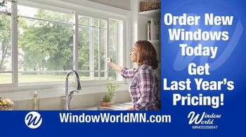 Window World TV Spot, 'In Time For Spring'