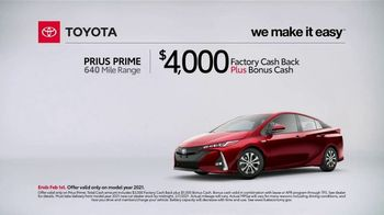 2021 Toyota Prius Prime TV Spot, 'What Do We Have Here: Prius Prime' [T2] - Thumbnail 1