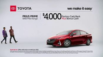 2021 Toyota Prius Prime TV Spot, 'What Do We Have Here: Prius Prime' [T2] - Thumbnail 2