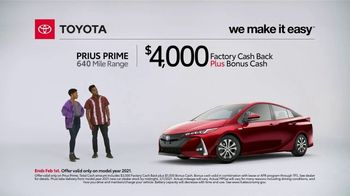 2021 Toyota Prius Prime TV Spot, 'What Do We Have Here: Prius Prime' [T2] - Thumbnail 3