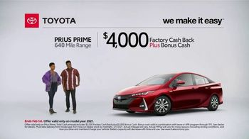 2021 Toyota Prius Prime TV Spot, 'What Do We Have Here: Prius Prime' [T2] - Thumbnail 4