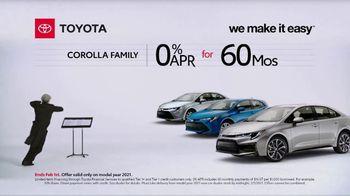 2021 Toyota Corolla TV Spot, 'Conductor' [T2]
