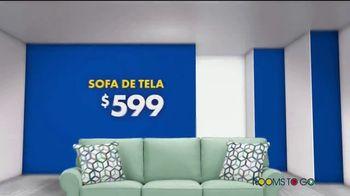 Rooms to Go Venta de Sofás de Año Nuevo TV Spot, 'Todos los sofás' canción de Junior Senior [Spanish] - Thumbnail 2