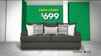 Rooms to Go Venta de Sofás de Año Nuevo TV Spot, 'Todos los sofás' canción de Junior Senior [Spanish] - Thumbnail 3