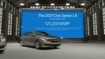2021 Honda Civic TV Spot, 'Upgrade: Civic' [T2] - Thumbnail 5