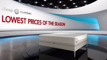 Sleep Number Lowest Prices of the Season TV Spot, 'Temperature Balance: Save up to $1,000' - Thumbnail 1