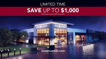 Sleep Number Lowest Prices of the Season TV Spot, 'Temperature Balance: Save up to $1,000' - Thumbnail 9