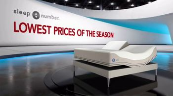 Sleep Number Lowest Prices of the Season TV Spot, 'Temperature Balance: Save up to $1,000' - Thumbnail 2