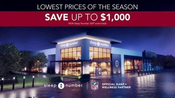 Sleep Number Lowest Prices of the Season TV Spot, 'Temperature Balance: Save up to $1,000' - Thumbnail 8