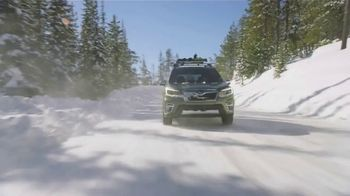 2021 Subaru Forester TV Spot, 'Best Winter Ever: Forester' [T2] - Thumbnail 1