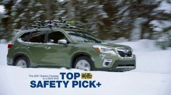 2021 Subaru Forester TV Spot, 'Best Winter Ever: Forester' [T2] - Thumbnail 5