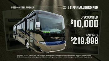 La Mesa RV TV Spot, 'Used: 2018 Tiffin Allegro Red' - Thumbnail 6