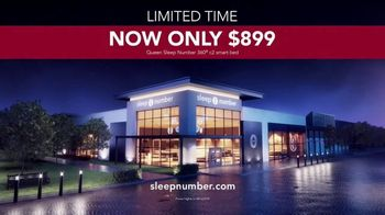 Sleep Number Lowest Prices of the Season TV Spot, 'Adjust Your Comfort: Queen for $899' - Thumbnail 8