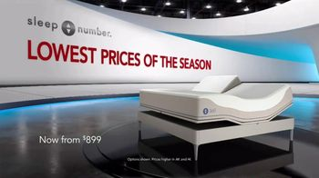 Sleep Number Lowest Prices of the Season TV Spot, 'Adjust Your Comfort: Queen for $899' - Thumbnail 2
