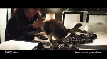 GreatCall Lively Mobile Plus Medical Alert TV Spot, 'Worry No More' Featuring John Walsh