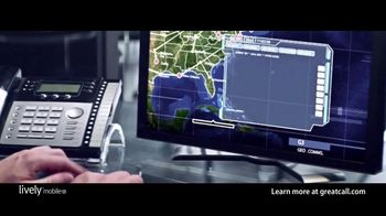 GreatCall Lively Mobile Plus Medical Alert TV Spot, 'Worry No More' Featuring John Walsh - Thumbnail 4