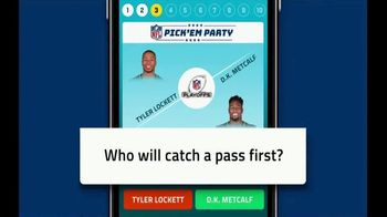 NFL Pick'Em Party TV Spot, 'Climb the Leaderboard' - Thumbnail 4