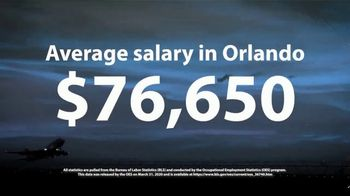 Aviation Institute of Maintenance TV Spot, 'Essential: $76,650 in Orlando' - Thumbnail 6