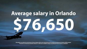 Aviation Institute of Maintenance TV Spot, 'Essential: $76,650 in Orlando' - Thumbnail 7