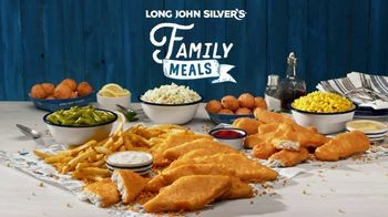 Long John Silver's Family Meals TV Spot, 'Mealtime Mutiny: Pickup and Delivery'