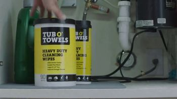 Tub O'Towels Heavy Duty Cleaning Wipes TV Spot, 'Home Cleaning Routine'