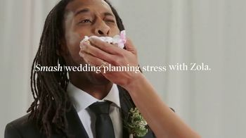 Zola TV Spot, 'Smash Wedding Planning Stress' - Thumbnail 4