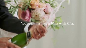 Zola TV Spot, 'Smash Wedding Planning Stress' - Thumbnail 6