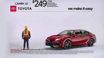 2021 Toyota Camry TV Spot, 'Construction' [T2] - Thumbnail 1