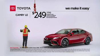 2021 Toyota Camry TV Spot, 'Construction' [T2] - Thumbnail 2