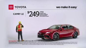 2021 Toyota Camry TV Spot, 'Construction' [T2] - Thumbnail 3