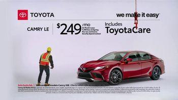 2021 Toyota Camry TV Spot, 'Construction' [T2] - Thumbnail 4