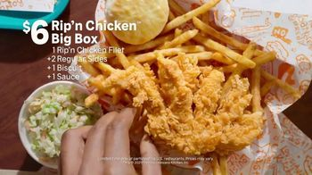Popeyes Rip'n Chicken Big Box TV Spot, 'Big Meal for a Big Deal' - Thumbnail 8