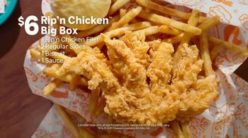 Popeyes Rip'n Chicken Big Box TV Spot, 'Big Meal for a Big Deal' - Thumbnail 7