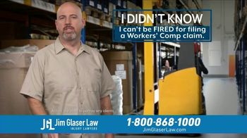 Jim Glaser Law TV Spot, 'Didn't Know: Workers Comp + Zantac'