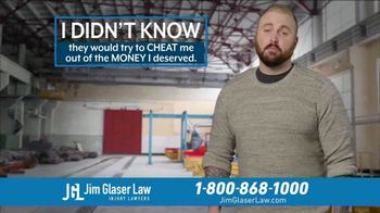 Jim Glaser Law TV Spot, 'Didn't Know: Workers Comp + Zantac' - Thumbnail 3
