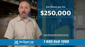 Jim Glaser Law TV Spot, 'Didn't Know: Workers Comp + Zantac' - Thumbnail 7