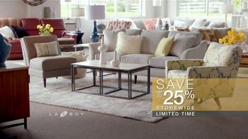 La-Z-Boy New Year's Sale TV Spot, 'Perfect Room: Save Up to 25%' - Thumbnail 7