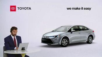 2021 Toyota Corolla Hybrid TV Spot, 'Commentary: Corolla Hybrid' [T2] - Thumbnail 1